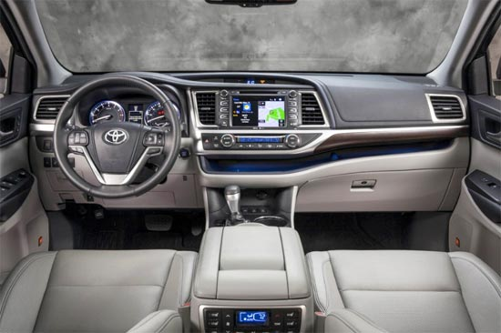 2019 Toyota Highlander Limited Platinum Interior