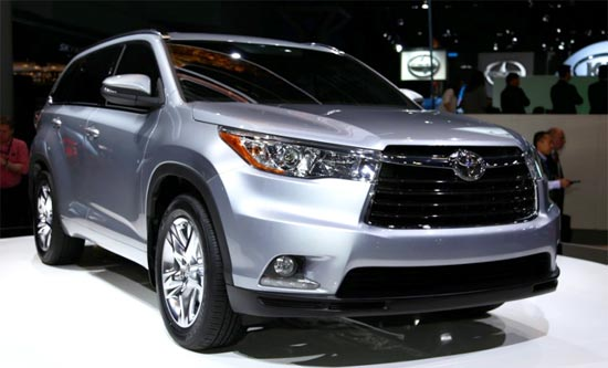 2019 Toyota Highlander Limited Platinum Review and Release Date
