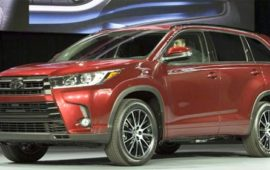 2019 Toyota Highlander Engine and Review