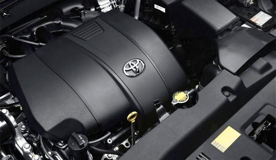2019 Toyota Highlander SE Engine