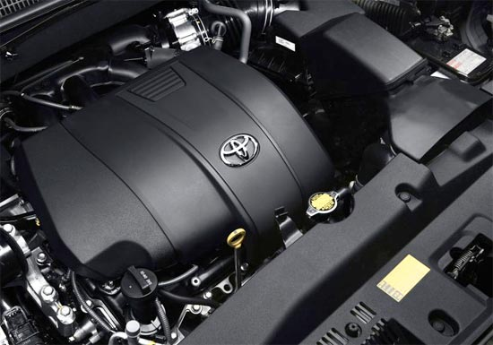 2019 Toyota Highlander SE Engine