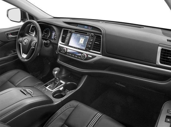 2019 Toyota Highlander SE Interior