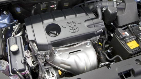 2019 Toyota RAV4 SE Engine