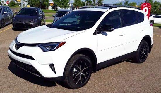 2019 Toyota RAV4 SE Exterior
