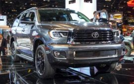2019 Toyota Sequoia Engine And Redesign