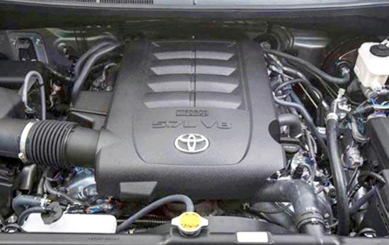 2019 Toyota Tundra Crewmax Engine