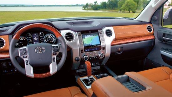 2019 Toyota Tundra Crewmax Interior