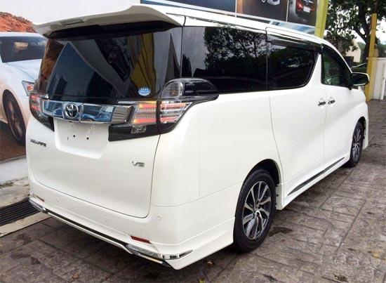 2019 Toyota Velfire Exterior