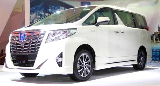2019 Toyota Velfire Release Date And Rumors