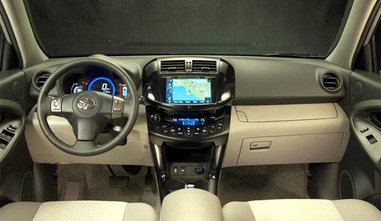 2019 Toyota Rav4 XLE Interior