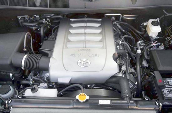 2019 Toyota Sequoia Engine Specs