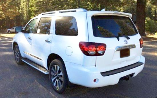 2019 Toyota Sequoia Limited Exterior