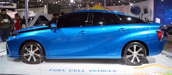 2019 Toyota Mirai Exterior