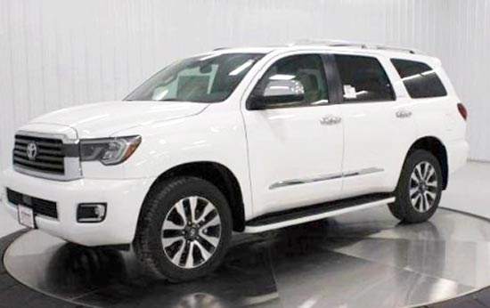 2019 Toyota Sequoia Limited Price and Review