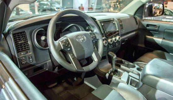2019 Toyota Sequoia Limited Interior