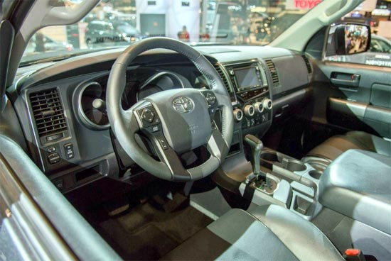 2019 Toyota Sequoia Limited Interior