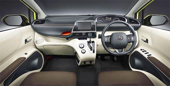 2020 Toyota Sienta Interior