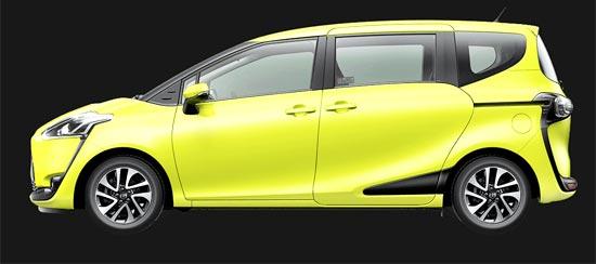 2020 Toyota Sienta Exterior
