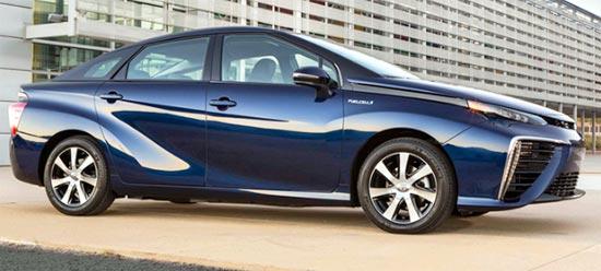 2020 Toyota Mirai Sedan Exterior