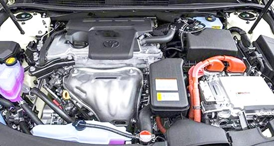 2020 Toyota Avalon Limited Engine