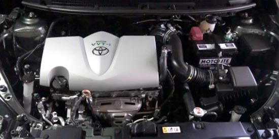 2020 Toyota Vios Engine
