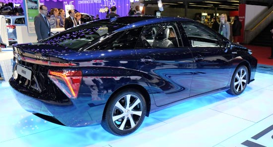 2020 Toyota Mirai Sedan Release Date and Price