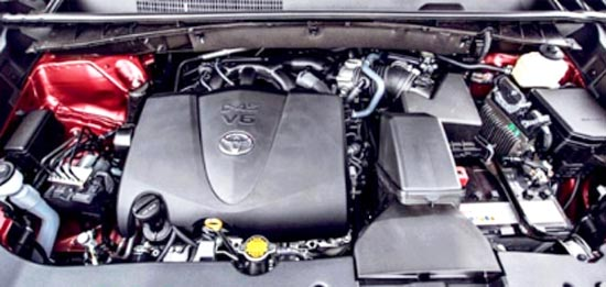 2020 Toyota Highlander XLE Engine