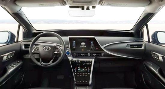 2020 Toyota Mirai Sedan Interior