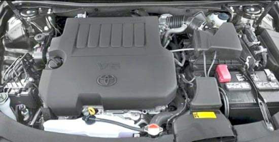 2020 Toyota Avalon XLE Engine