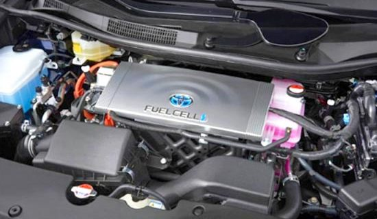 2020 Toyota Mirai Sedan Engine