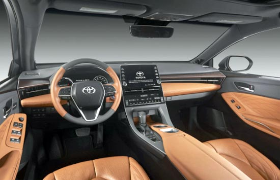 2020 Toyota Avalon XLE Interior