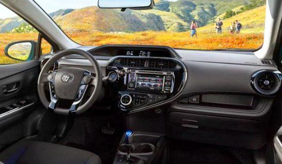 2020 Toyota Prius C Interior