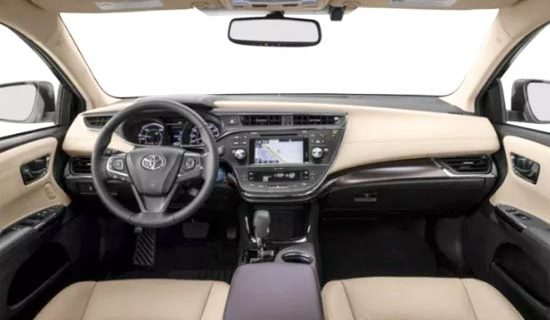 2020 Toyota Avalon XLE Interior