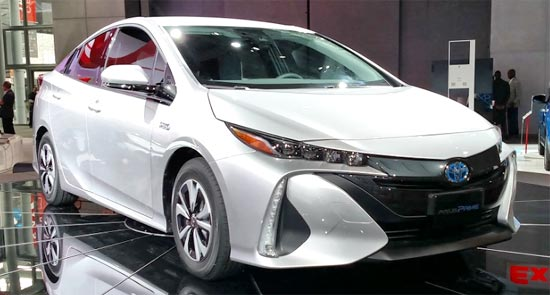 2019 Toyota Prius Prime Redesign and Release Date