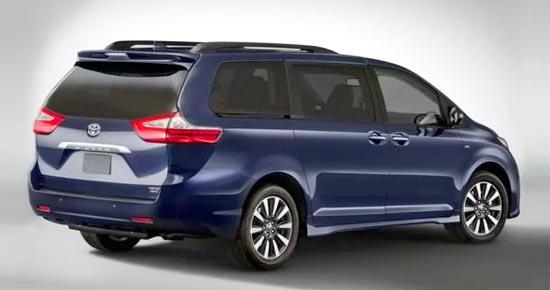2020 Toyota Sienna AWD Exterior