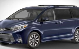 2020 Toyota Sienna AWD Review and Release Date