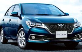 2020 Toyota Allion Review, Exterior and Releae Date