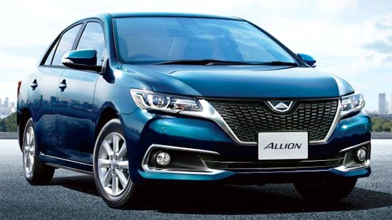 2020 Toyota Allion Review, Exterior and Release Date