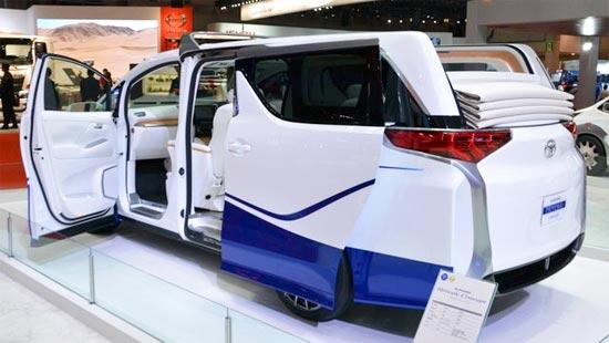 2020 Toyota Alphard Exterior