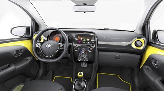 2020 Toyota Aygo Interior