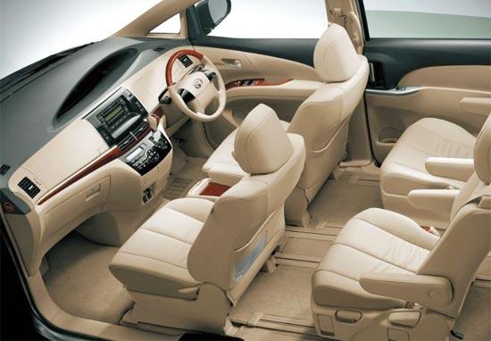2020 Toyota Estima Interior