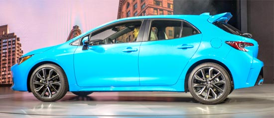 2020 Toyota Corolla IM Exterior
