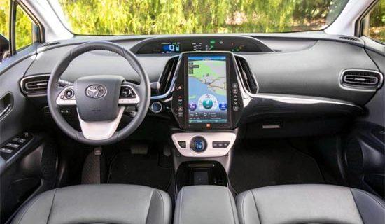 2020 Toyota Prius Hybrid Interior