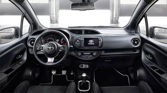 2020 Toyota Yaris Gazoo Interior
