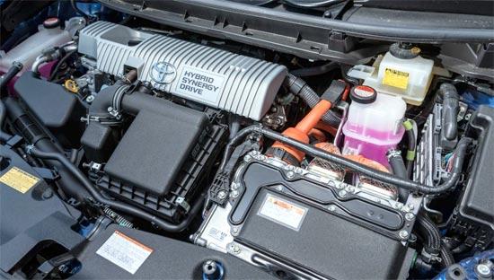 2020 Toyota Prius Hybrid Engine