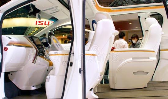 2020 Toyota Alphard Interior