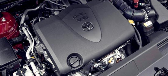 2020 Toyota Aurion Engine