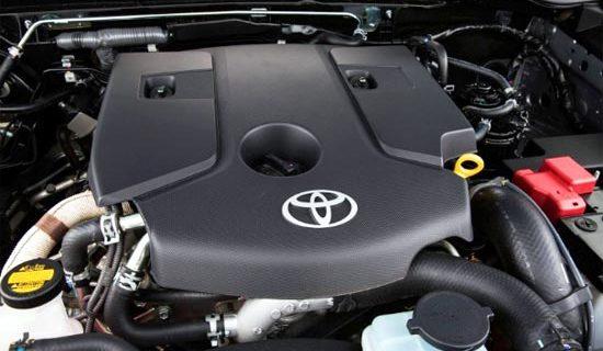 2020 Toyota Fortuner Engine