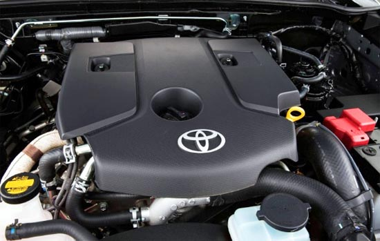 2020 Toyota Fortuner Engine