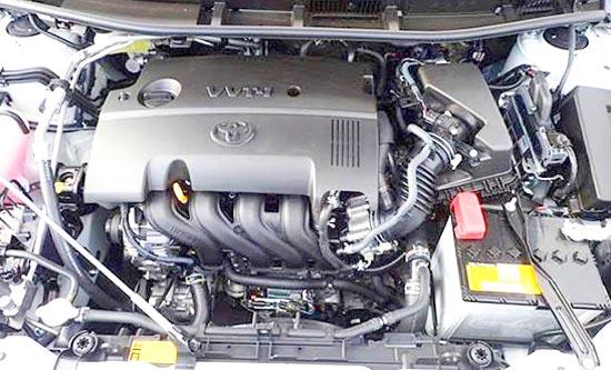 2020 Toyota Premio Engine